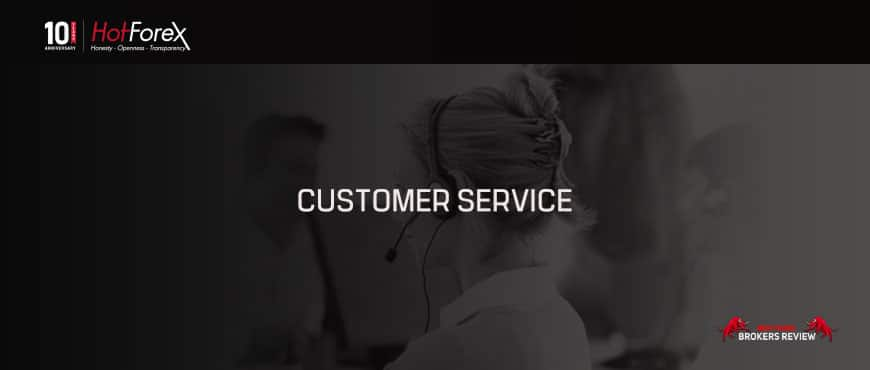 HotForex Review Customer Service